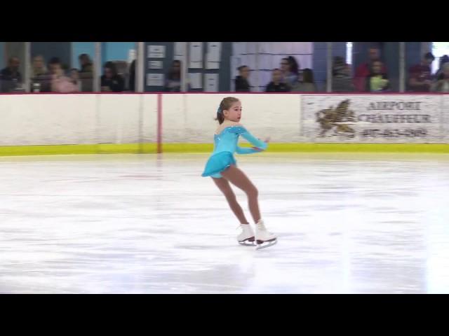 Katsiaryna Bobrykava No Test Program, Florida Open Figure skating championchips 2017 1st place