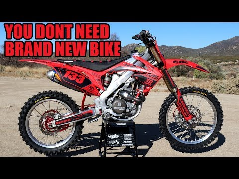 How Good Is 10 Years Old HONDA Crf250r With Big Bore