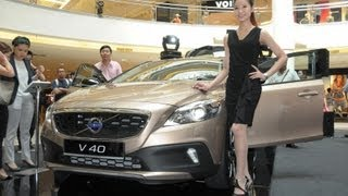Volvo V40 Lauched Malaysia Mid Valley 20th August 2013