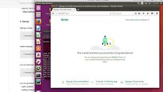 OpenCV+WebApp - ch2 preperation (4/4), django install