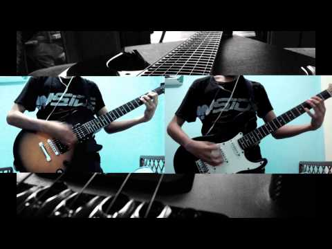 The Offspring-The Kids Aren't Alright (Guitar cover) w/ Backing Track