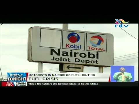 Fuel stations in many parts of Nairobi have depleted reserves
