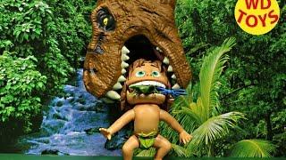 disney the good dinosaur chomping spot vs giant t rex jurassic world disney pixar