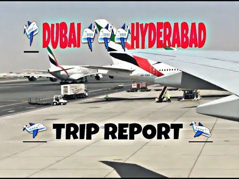 Emirates boeing 777-300er DUBAI-HYDERABAD Full flight report *2017* | YOUNG AVIATOR