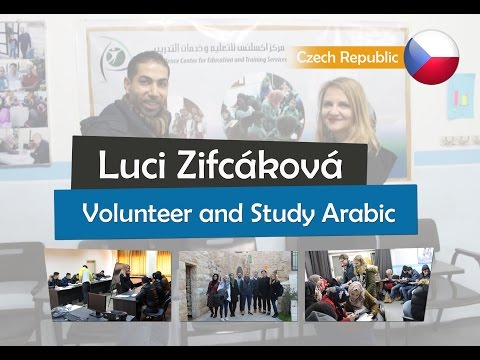 Story of Lucie - Volunteer and Study Arabic in Palestine 2017