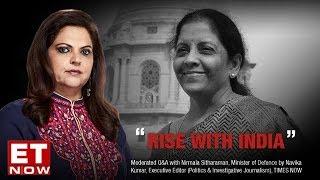 Video Nirmala Sitharaman In A Candid Conversation With Navika Kumar | Full Interview download MP3, 3GP, MP4, WEBM, AVI, FLV September 2018
