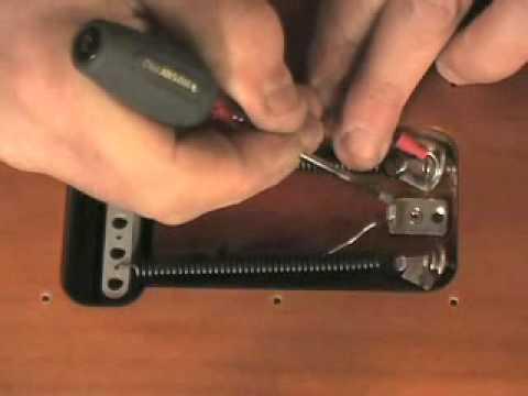 Installing the Hipshot Trem Setter