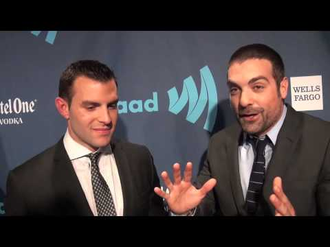 JOHN COLANERI & ANTHONY CARRINO on LGBT Support, Fans ...