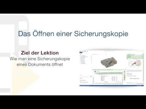 Tutorial von PriMus IFC - Das Öffnen einer Sicherungskopie - ACCA software thumbnail