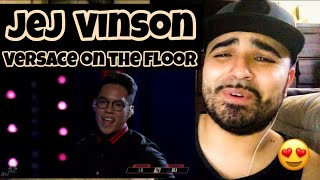 "Download Reacting to Jej Vinson Singing "" Versace on the Floor "" Mp3 and Videos"