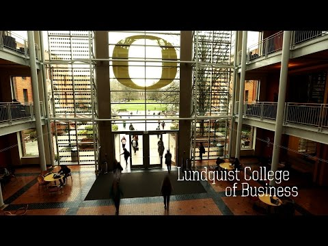University of Oregon | Lundquist College of Business