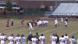 colonial forge versus mountain view freshman football october 21 2013