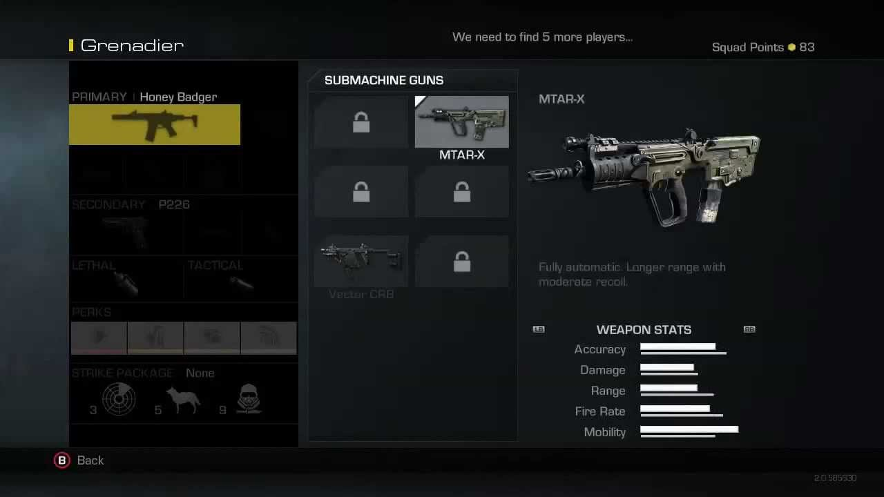 Call Of Duty Ghosts Create A Class Soldiers Killstreaks