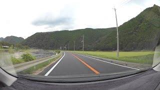岡山兵庫県道368号吉永下徳久線、佐用町R179-R373 車載動画