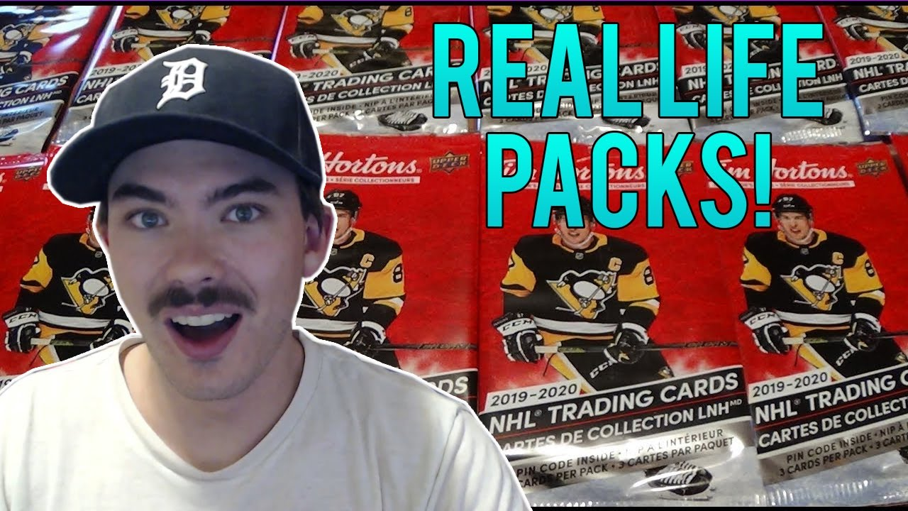 REAL LIFE PACK N PLAY IN NHL 20!   Tim Hortons Real Life Packs