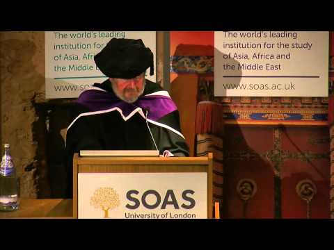 "Professor T H Barrett: ""The Three Things I Learnt About China"", SOAS, University of London"