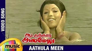 Aattukkara Alamelu Tamil Movie Songs   Aathula Meen Video Song   Sivakumar   Sripriya