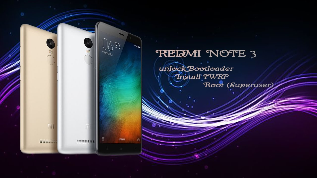 Xiaomi Redmi note 3 (Snapdragon) Unlock Bootloader, Install TWRP and ROOT  (No Permisson needed)