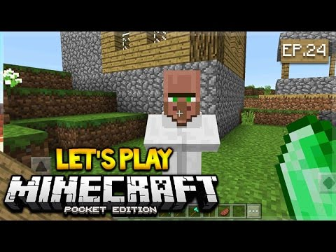 LIVE NOW - Let's Play Minecraft Pocket Edition 1.0.4 - We Can Trade! Episode 24 (Pocket Edition)