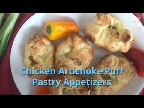 chicken-artichoke-puff-pastry-appetizers