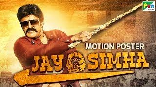 Jay Simha | Official Hindi Dubbed Motion Poster | Nandamuri Balakrishna, Nayanthara, KS Ravi Kumar