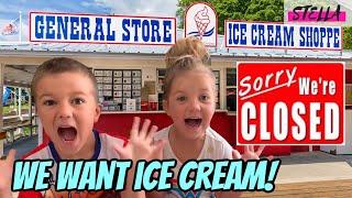 Stella really wants ICE CREAM!!!