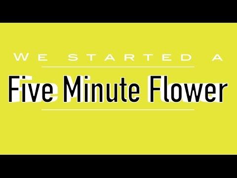 Five Minute Flower - ISC Doha