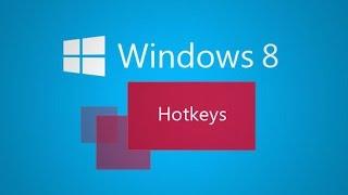 Горячие клавиши в Windows 8