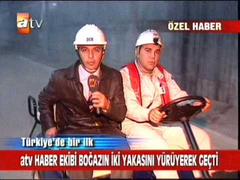 Marmaray Atv news immersed tunnel bosphorus