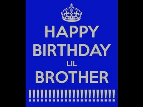 Happy Birthday Little Brother E Card Category Birthday