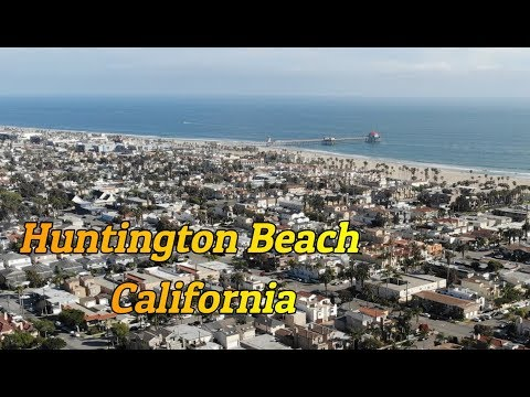 Huntington Beach - Surf City (best Footage Ever)