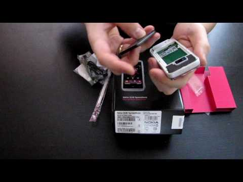 Nokia 5530 illuvial pink collection review and unboxing