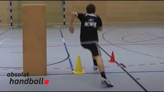 1 on 1 handball offense technique training