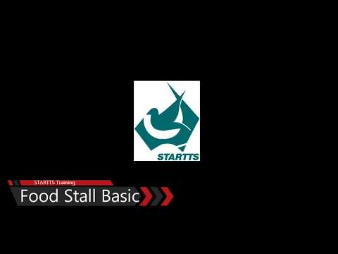 Basic food safety - temporary food stall basic equipment lesson 01 2017