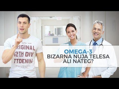 Omega-3 -  bizarna nuja telesa ali nateg?