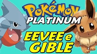 Pokémon Platinum (Detonado - Parte 8) - Gible, Eevee e Mountain Bike