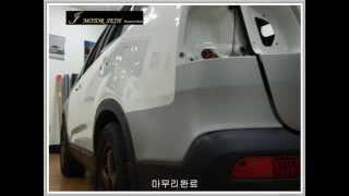 쏘랜토 R 하이퍼실버필름 전체시공 동영상 -  j mo…