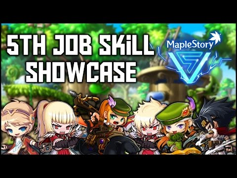 GMST - 5th Job Showcase! (WH, Zero, DB, Evan, MM)