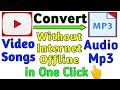 How to Convert Songs into Mp3 Offline Without Internet in Android|Best Mp3 Converter