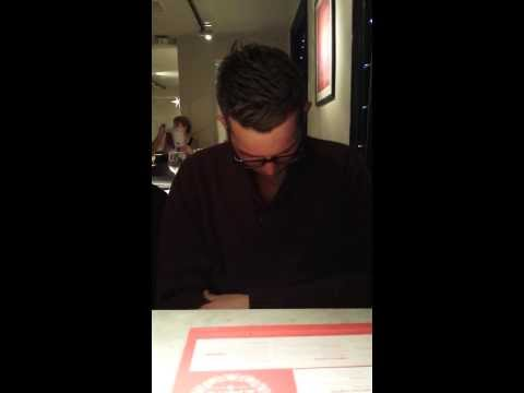 Instant Induction / Rapid Hypnosis - Stuck Hand Stick in Pizza Express Cambridge