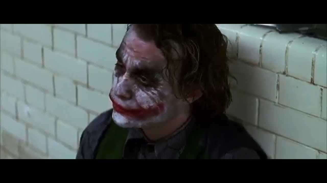 Batman The Dark Knight - 'Do you wanna know why I use a knife?'
