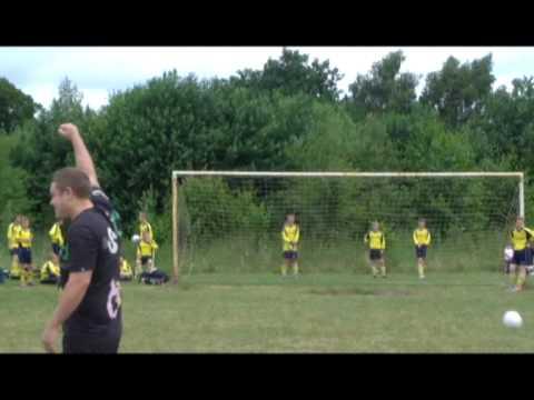 Borras Park Albion U13's Dads Crossbar Challenge