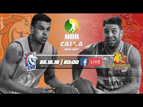 #NBBnaWEB - Liga Sorocabana 83 x 70 Caxias do Sul Basquete 22.12.2016