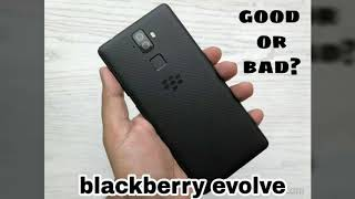 BLACKBERRY EVOLVE AND EVOLVE X ???