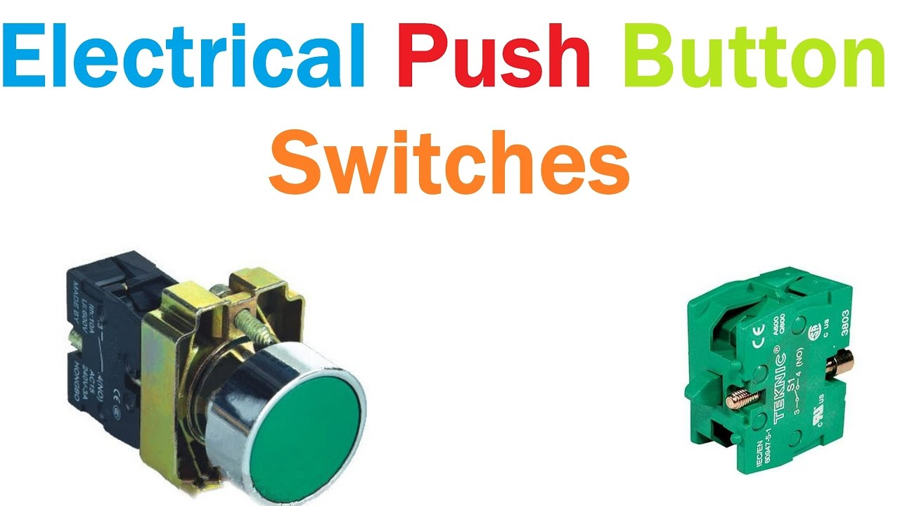 Electrical Push Button Switches Teknic On Off Switch Youtube Forward Reverse Wiring Diagram In Addition Rotary