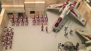 Star Wars Diorama: Republic Fortress
