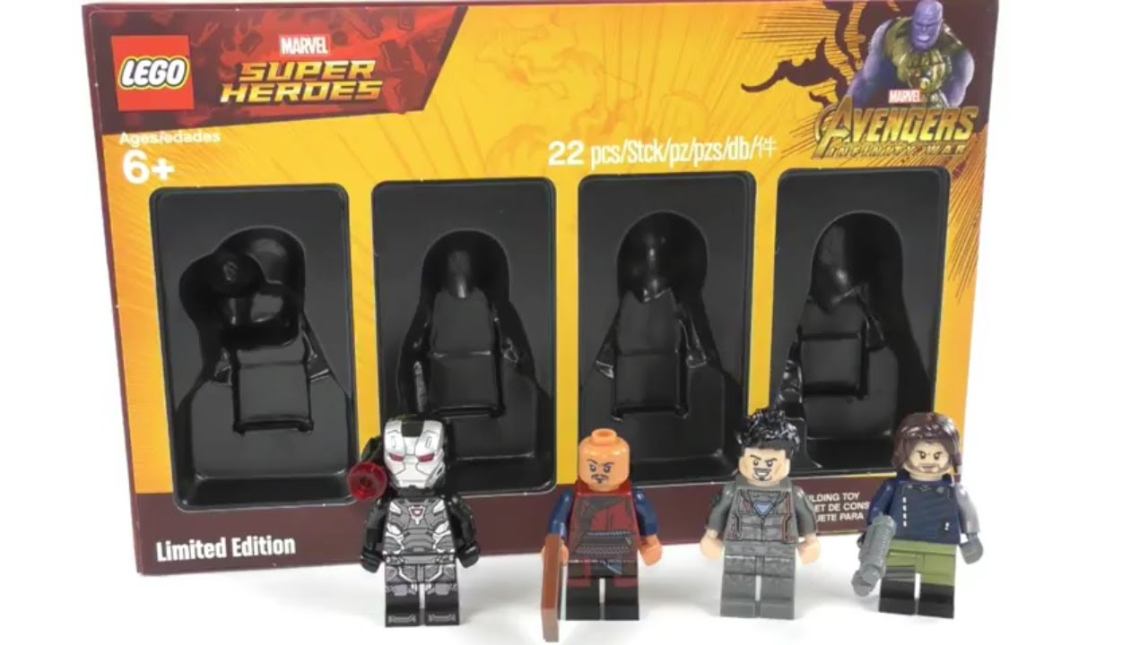 LEGO® 5005256 Super Heroes Bricktober Minifigure Collection Set Limited Edition