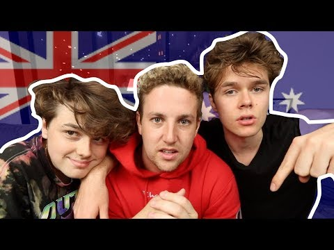 British Boys Guessing Dirty Australian Slang Ft (Harrison & Anderson webb)