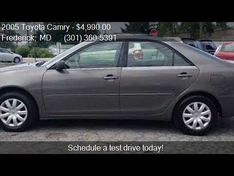 2005 Toyota Camry LE 4dr Sedan for sale in Frederick, MD 217