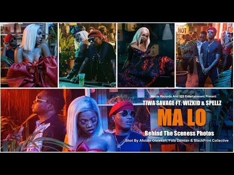Tiwa Savage Ft. Wizkid & Spellz - Ma Lo Behind The Scenes Photos